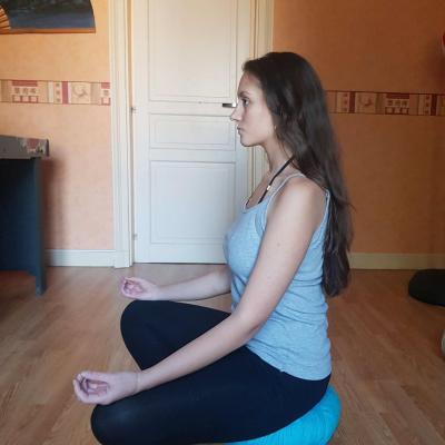 Zafu coussin yoga 1